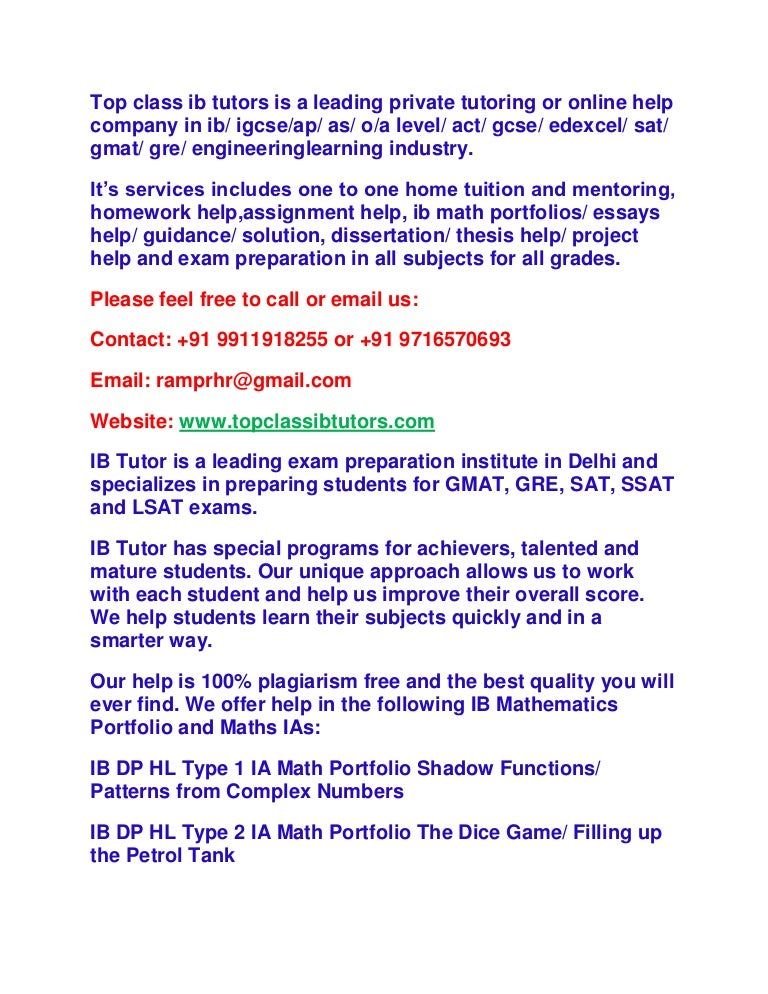 Extended essay help online