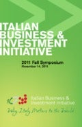 Italian startups present themselves at the IB&II Fall Symposium 2011