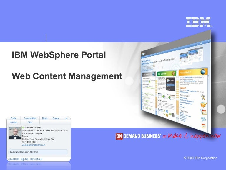 Abstracting the ui layer for websphere portal.
