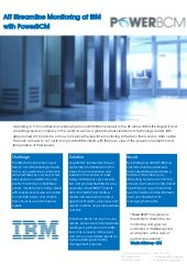 AIT Partnership IBM PowerBCM Case Study
