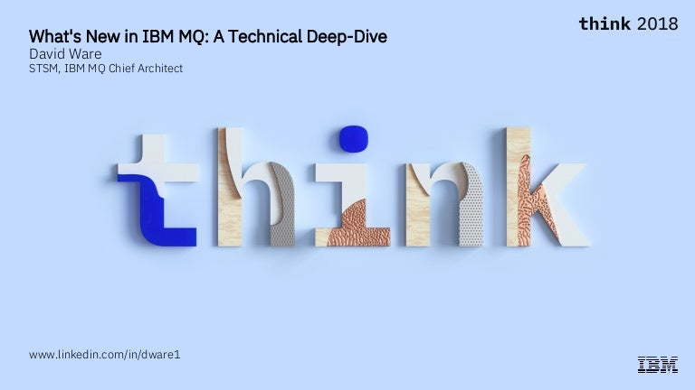 What's new in IBM MQ, March 2018