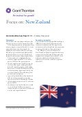GT IBR 2012 - focus on New Zealand
