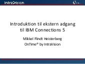 IBM Connections 5 Gæstemodel