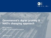 Government's digital journey & NAO's changing approach