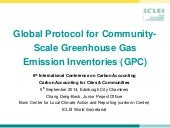 Global Protocol for Community-Scale Greenhouse Gas Emission Inventories | Chang Deng-Beck