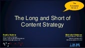 Long and Short of Content Strategy | Annotated Version
