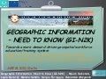 GEOGRAPHIC INFORMATION – NEED TO KNOW (GI-N2K) Towards a more demand-driven geospatial workforce education/training system