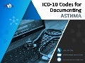ICD-10 Codes for Documenting Asthma