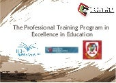 Icie professional diploma in excellence in education