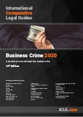 International Comparative Legal Guide to Business Crime 2020
