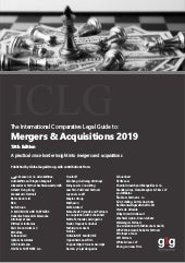 International Comparative Legal Guide to Mergers & Acquisitions 2019