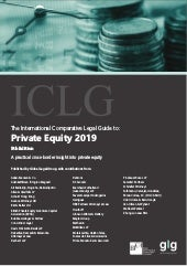 International Comparative Legal Guide to Private Equity 2019