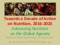 IFPRI-FAO Panel Discussion Accelerating Progress to Overcome Malnutrition