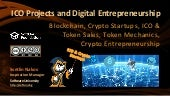 ICO Projects and Digital Entrepreneurship