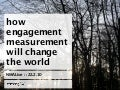 iCrossing: NMAlive presentation on engagement measurement
