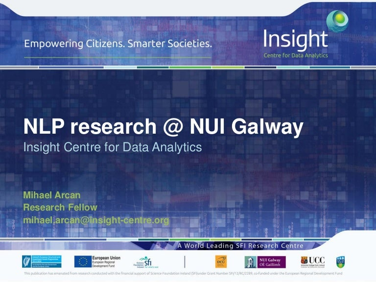 Nlp Research Nui Galway In A Nutshell