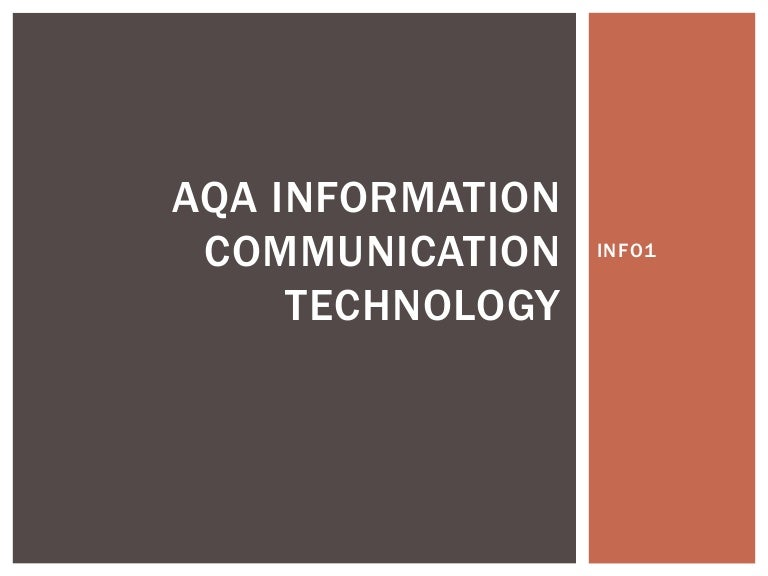 A  ict coursework aqa   Sample essay outline SLC evaluation