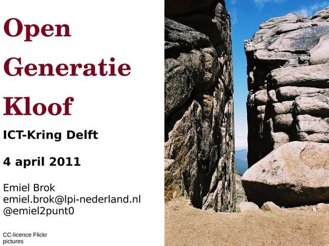 Ict kring delft_2011