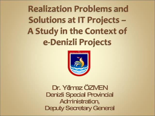Ict Project Management E Go Vshare2009