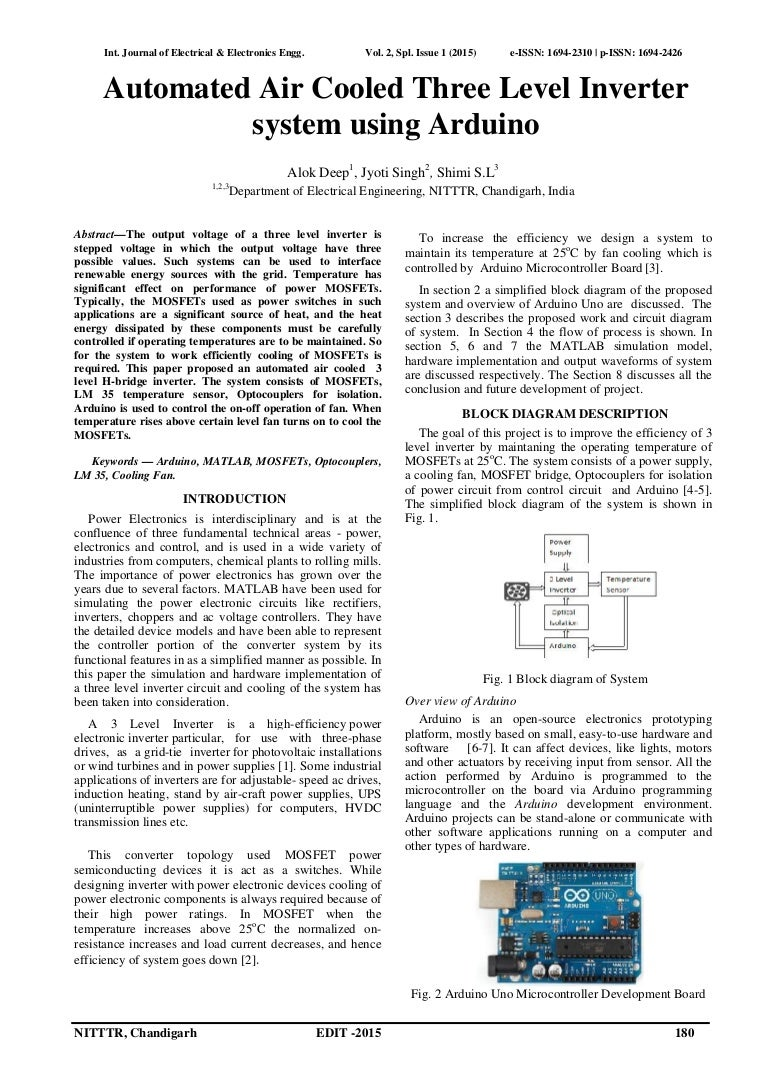 Automated Air Cooled Three Level Inverter System Using Arduino Block Diagram Together With Circuit Of Power Id137 150527044314 Lva1 App6891 Thumbnail 4cb1432702374