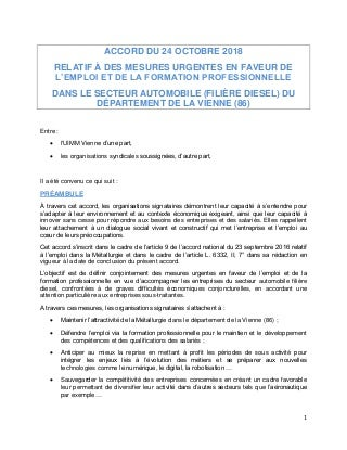Idcc 920 accord formation professionnelle