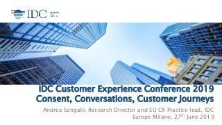 Il futuro della customer experience e la regola delle 3C: consenso, conversazione, customer journey