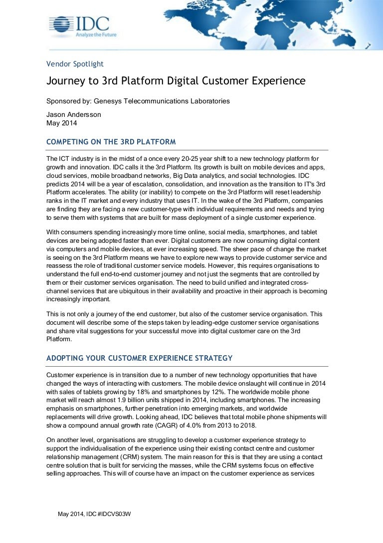 how to differentiate your digital customer care idc journey to_the_3r