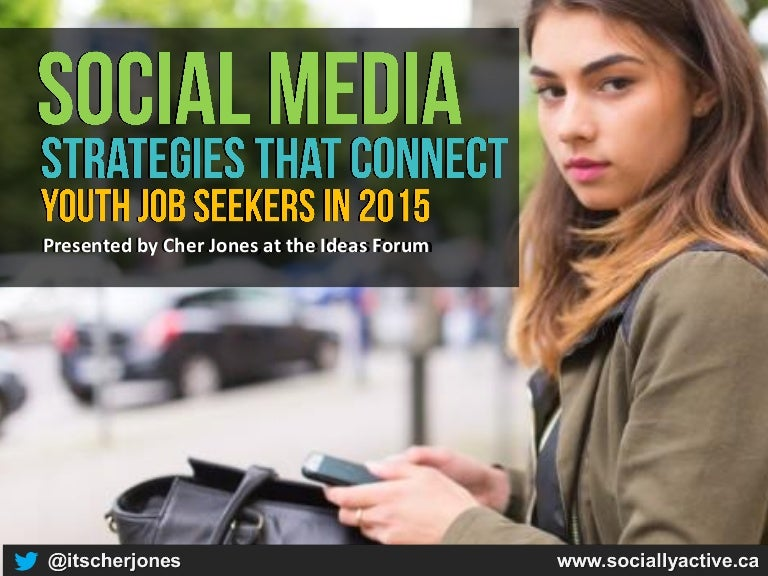 How Employment Agencies Can Use Social Media To Engage Youth Job Seek