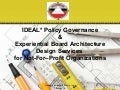 Ideal  board policy governance board system