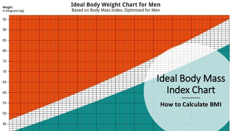Ideal Body Mass Index Chart How To Calculate Bmi