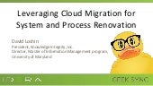 Geek Sync | Leveraging Cloud Migration for System and Process Renovation