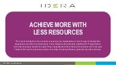 Achieve More with Less Resources | IDERA