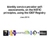 Complementary trust: IDEF Registry and Kantara cross-attestation