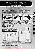 SMC -Refrigerated Air Dryers Standard/High Temperature Air Inlet Type Standard temperature air inlet [Series IDF /Series IDU