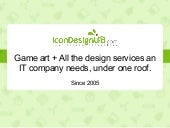 IconDesignLAB.com presentation for game developers