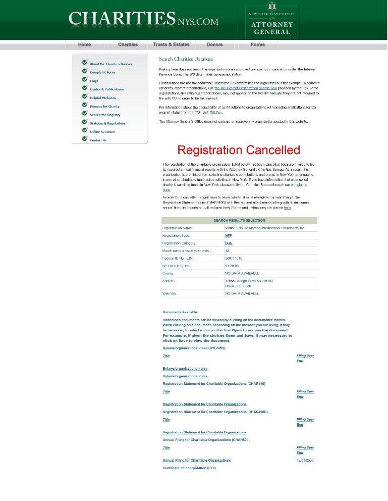 Idmji Cgmjci Annex H Registration Cancelled