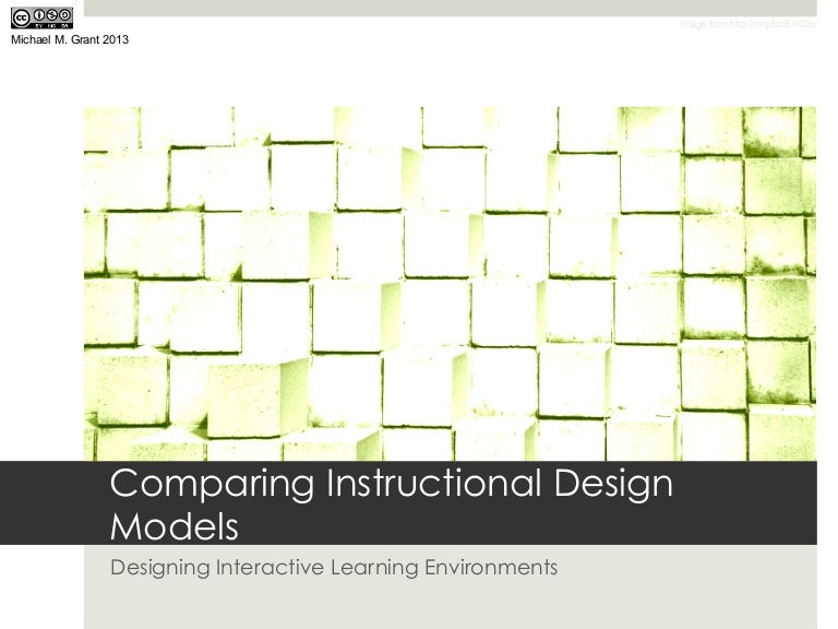 Comparing Instructional Design Models