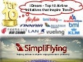SimpliDream - Top 10 Airline Initiatives that Inspire Travel