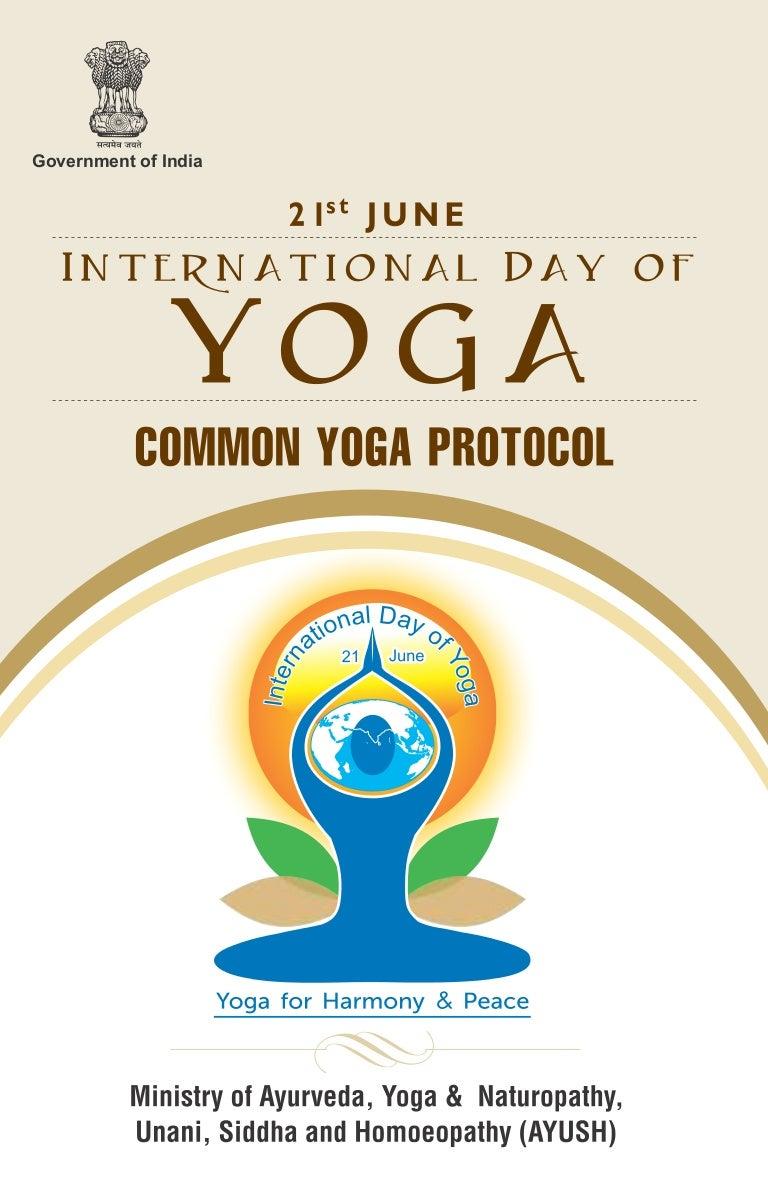 Common Yoga Protocol - 36 Mins - YouTube