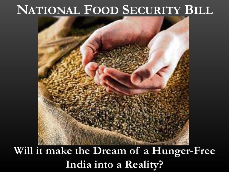 national food security bill