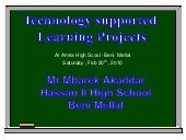 IEARN Telecollaborative Projects
