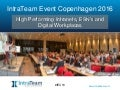 What is IntraTeam Event Copenhagen 2016?