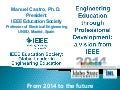 Engineering Education through Professional Development: a vision from IEEE