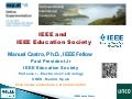 IEEE and  IEEE Education Society at exp.at'15 conference