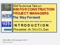 Iem talk bim for cpm-introd-eg-ppt,r.2-100519