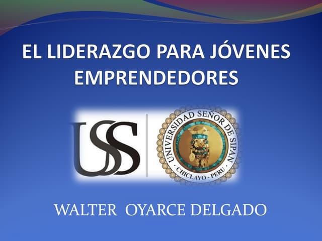 I EXPOEMPRENDEDORES LAMBAYEQUE 2015 Ponencia de Walter Oyarce