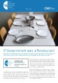 If Government Was A Restaurant