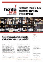 Briefing: Sustainable drinks, how to create opportunity from innovation