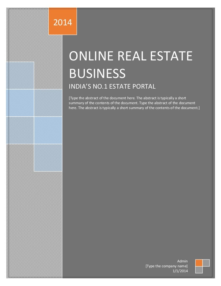 Online house rental system project