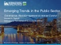Emerging Trends in the Public Sector: Governance, Risk Management & Internal Control